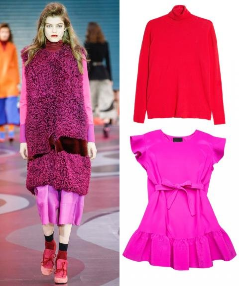 Fall 2015 Runway-Inspired Offbeat Color Combos