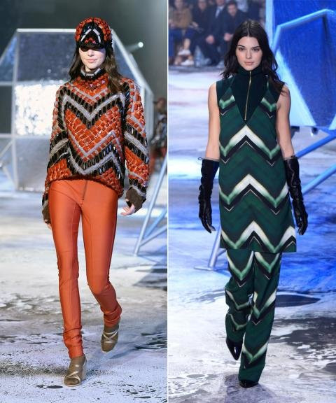 Kendall Jenner at H&M Runway Show