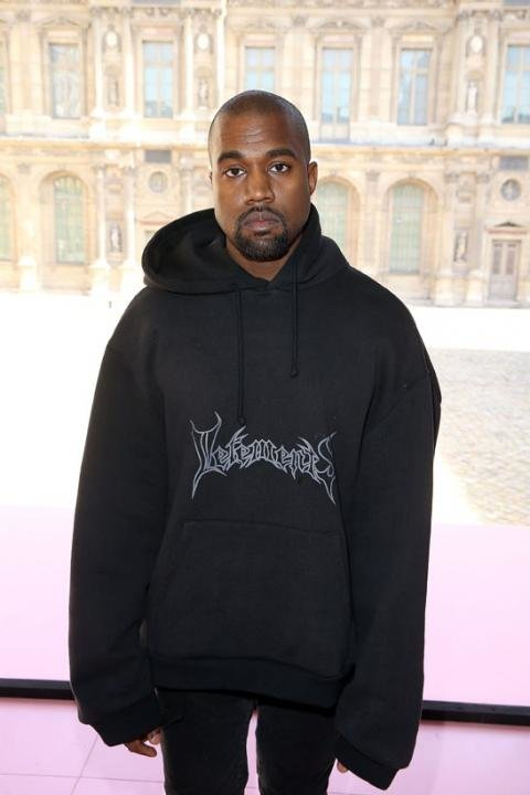Kanye West's Front Row Fashion