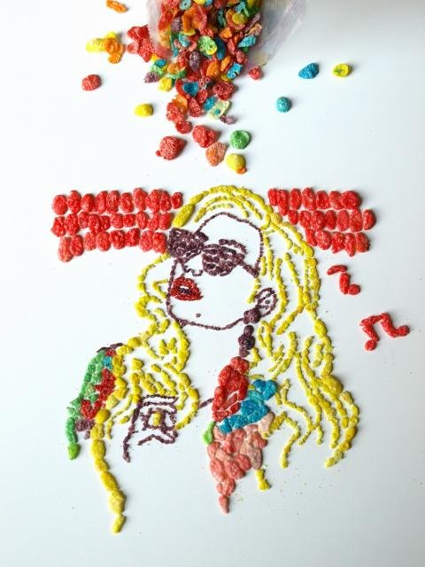 Celebrity Cereal Portraits