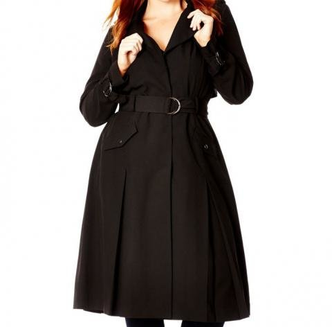 City Chic Trench