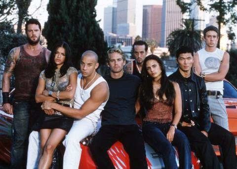 The Cast of Fast and Furious