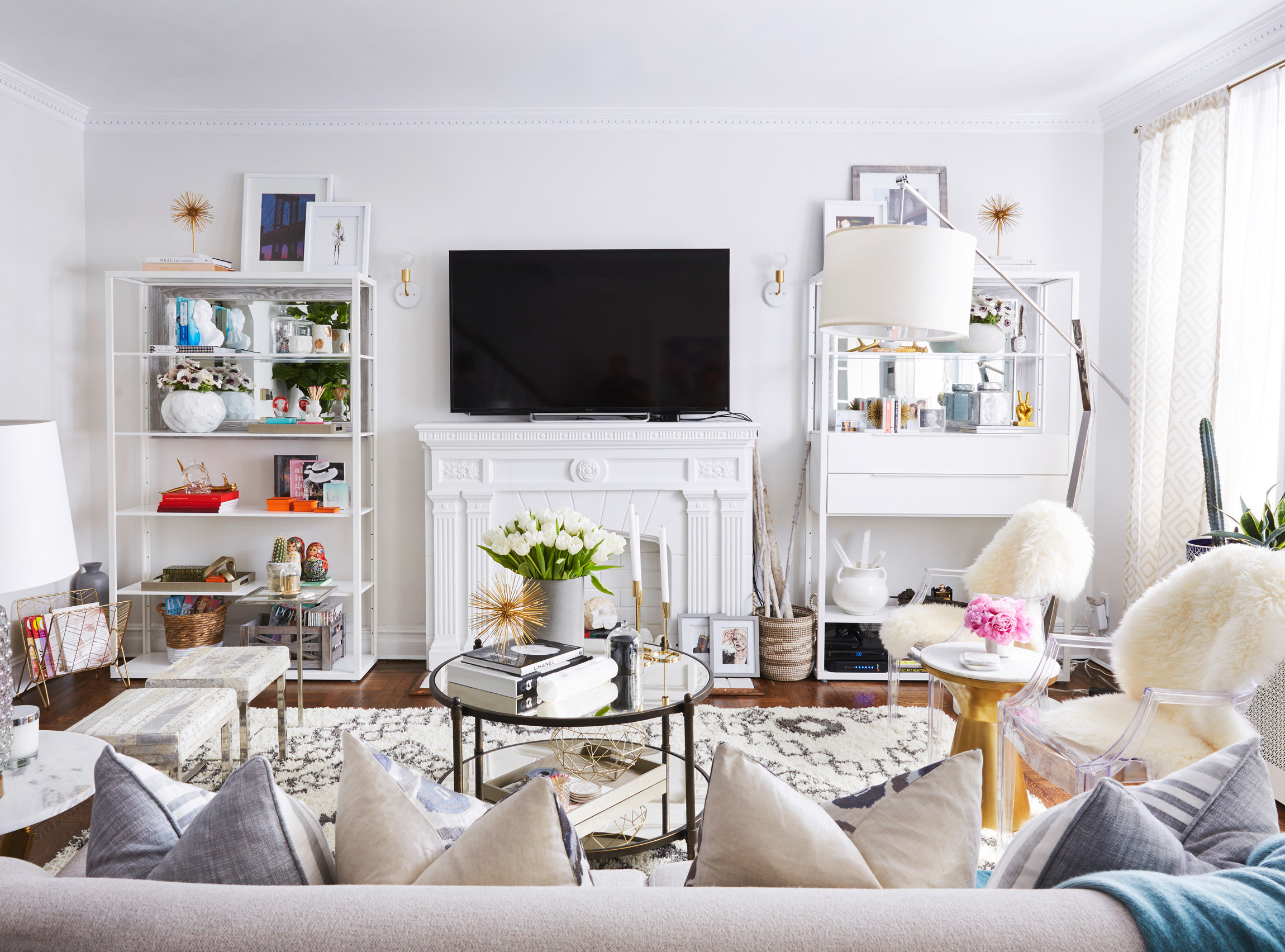 inside brooklyn blonde s n y c townhouse instyle com