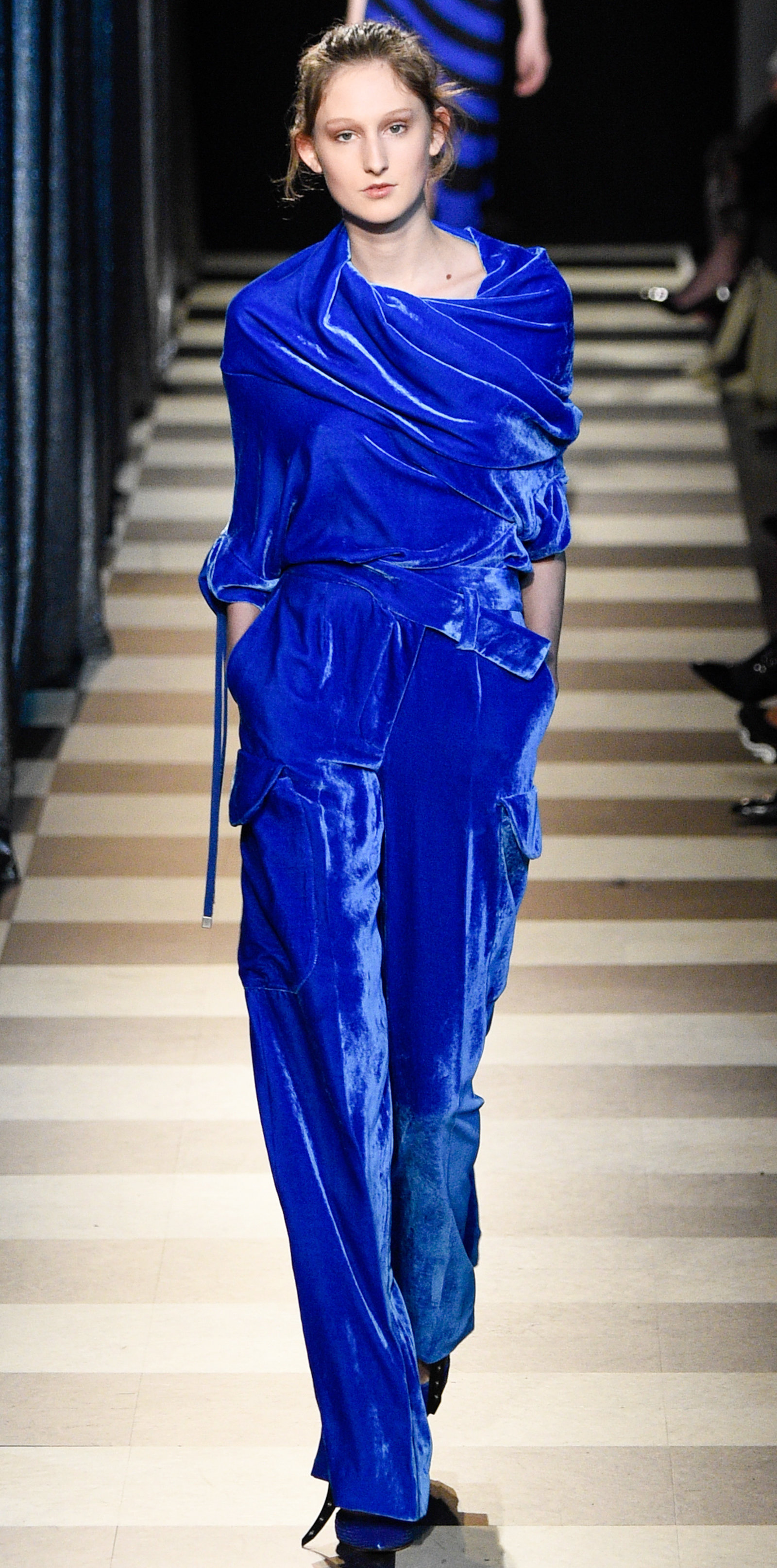 colored velvet one of nyfw 2017 u0027s most luxurious trends instyle com
