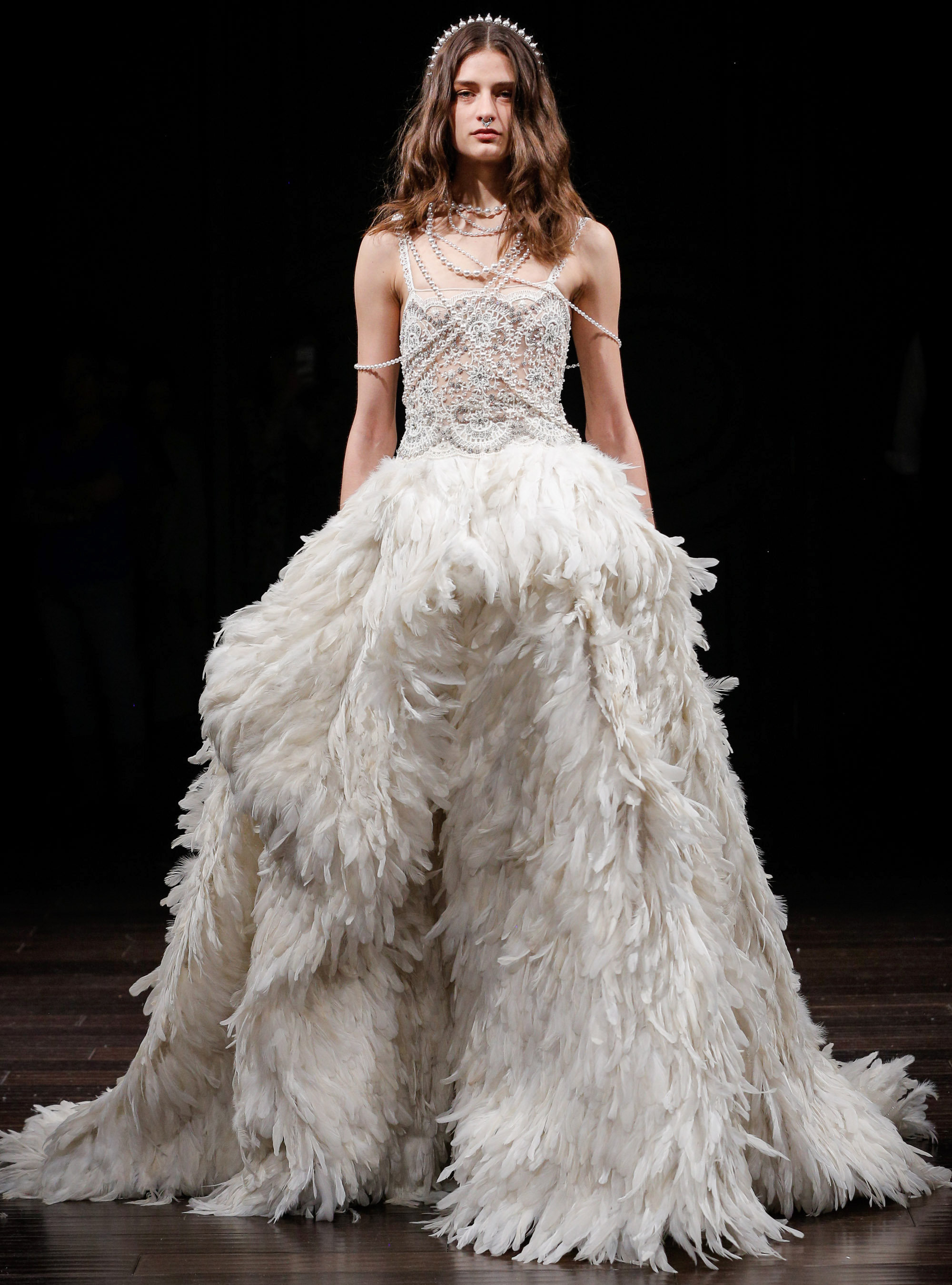 Bridal Fashion Week New York Spring 2018: Fairy Tale Designer ...