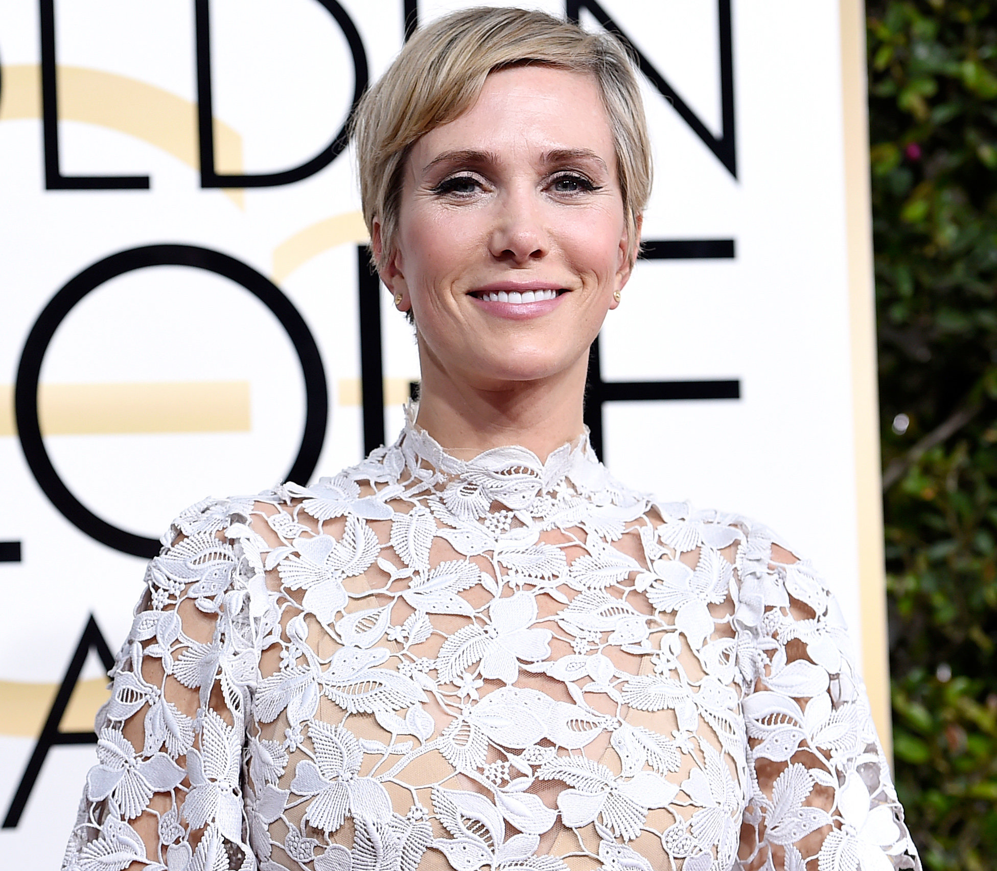 Kristen Wiig\'s New Bowl Cut | InStyle.co.uk