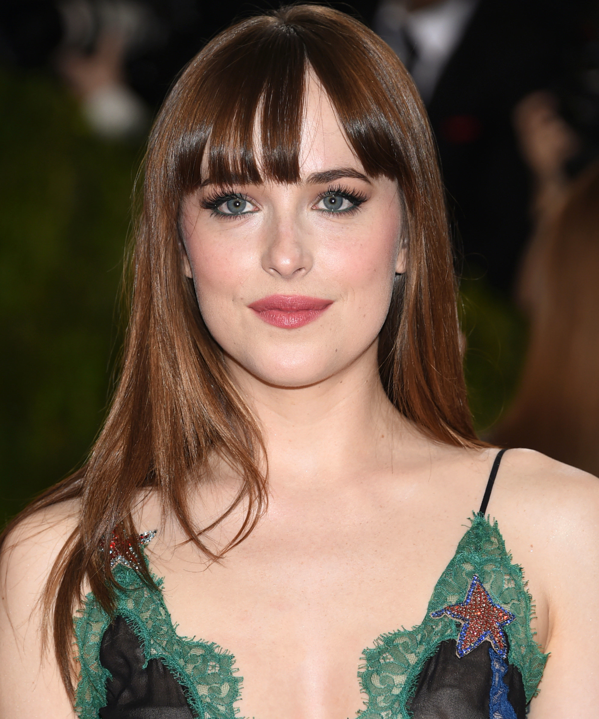 The Best Celebrity Long Hairstyles with Bangs | InStyle.com