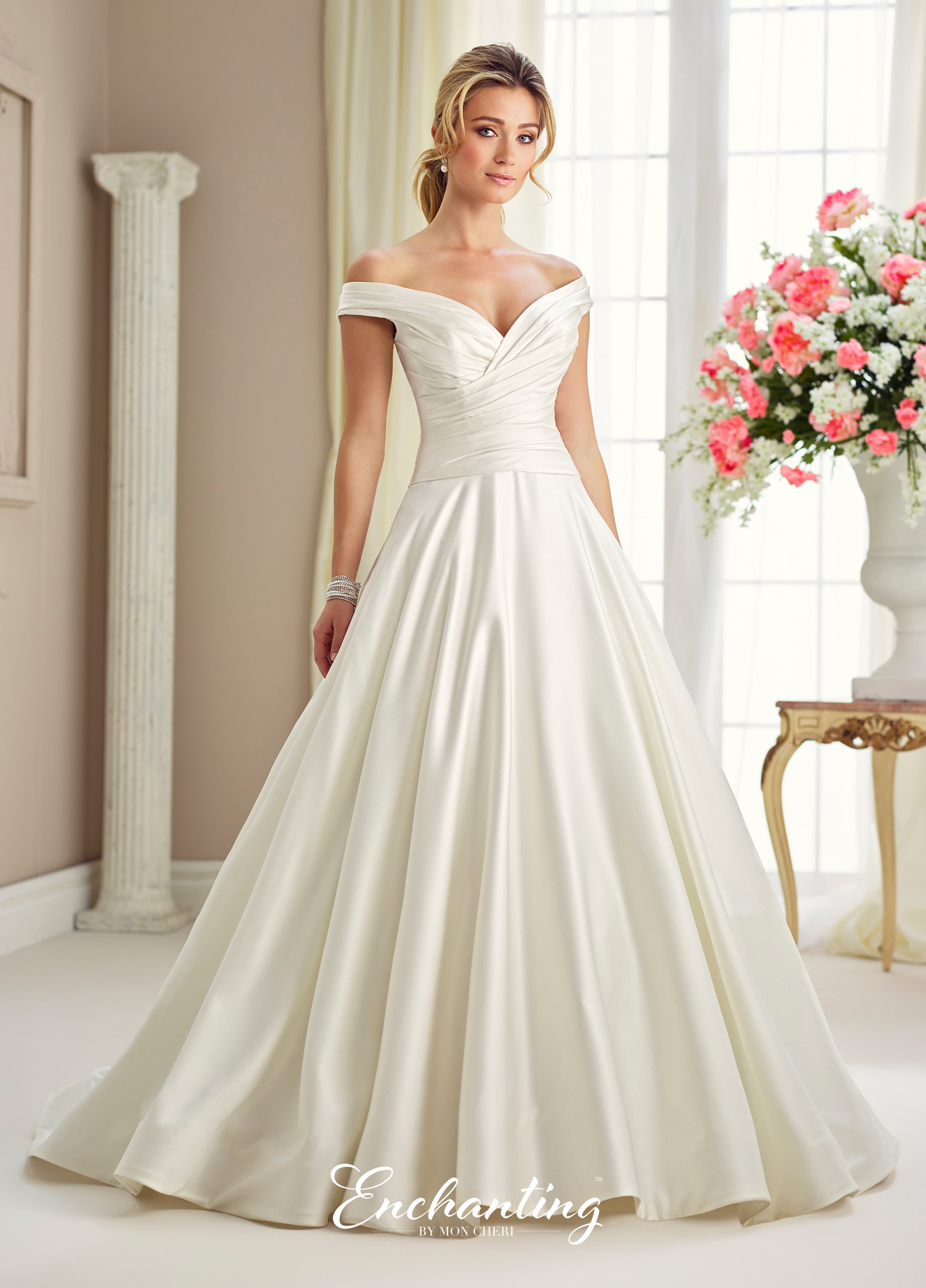 Shop Bridal Gowns Inspired by Jaqueline Kennedy\'s Wedding Dress ...