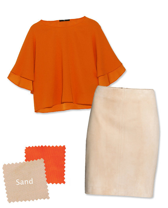 Orange Shades orange you glad? 4 shades to wear with the punchy color of