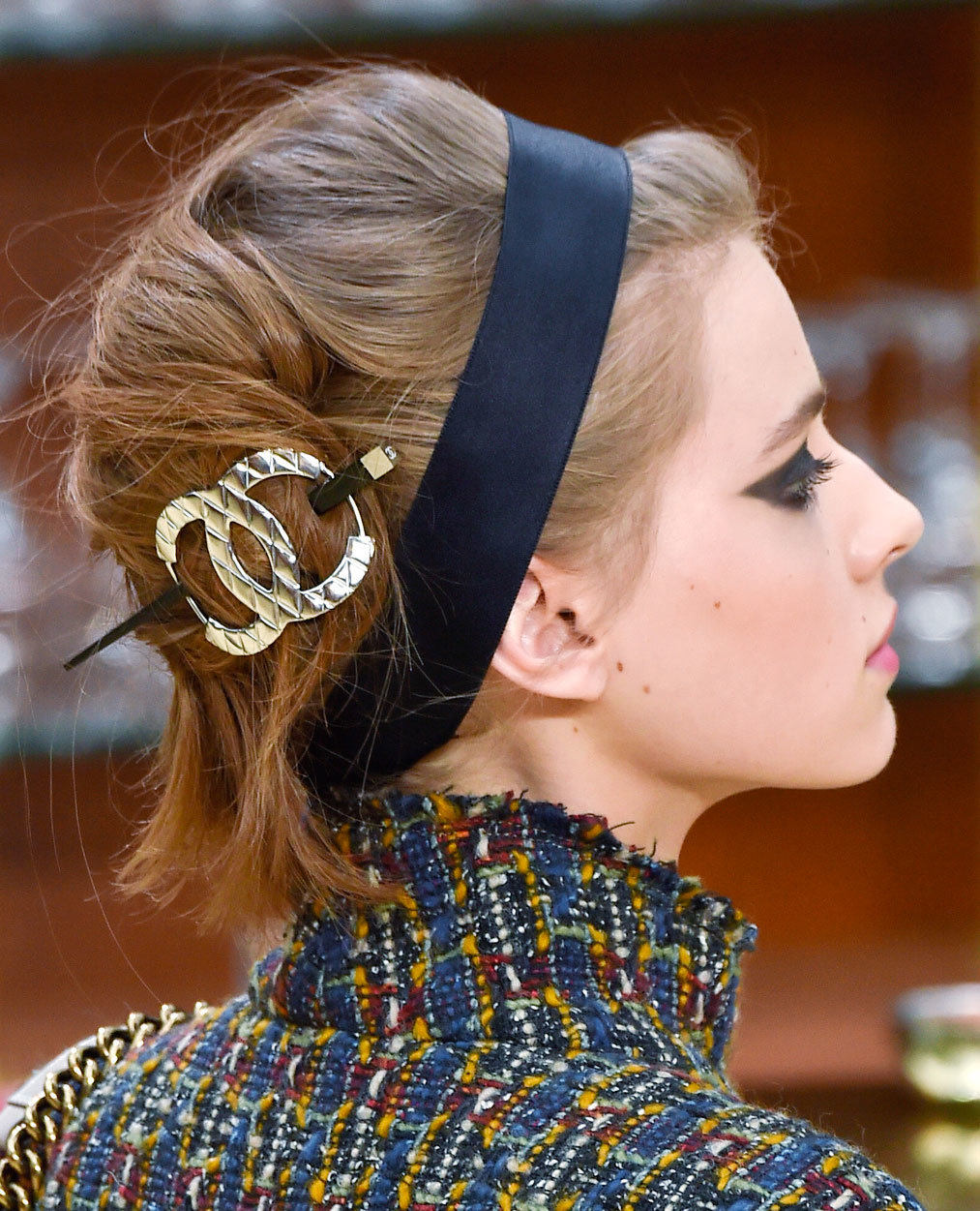 French Twist Hairstyles Inspired by Fashion Week Runway Beauty ...