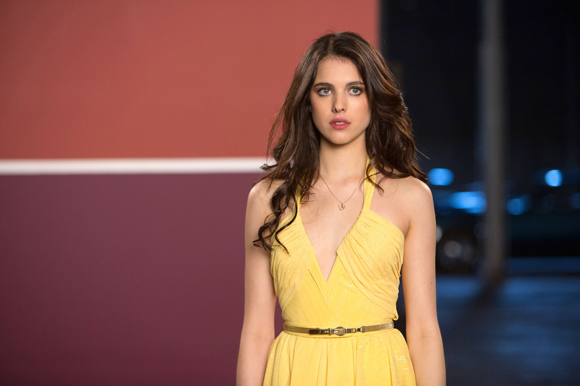 The Nice Guys's Margaret Qualley Shares What It's Like to Work with Ryan Gosling and Russell