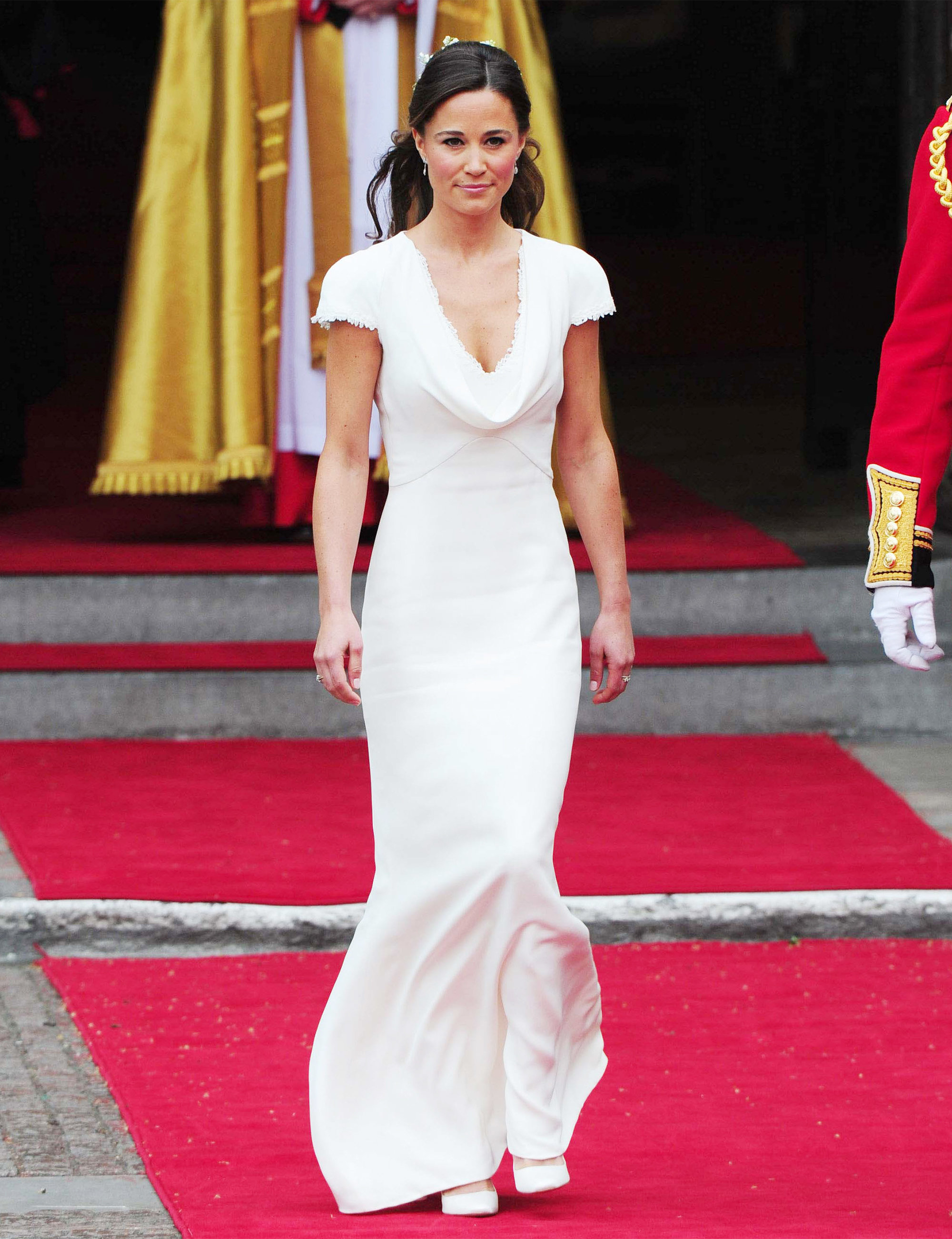 Wedding Pippa Middleton Wedding Dress buy pippa middletons royal wedding bridesmaids dress on sale instyle com
