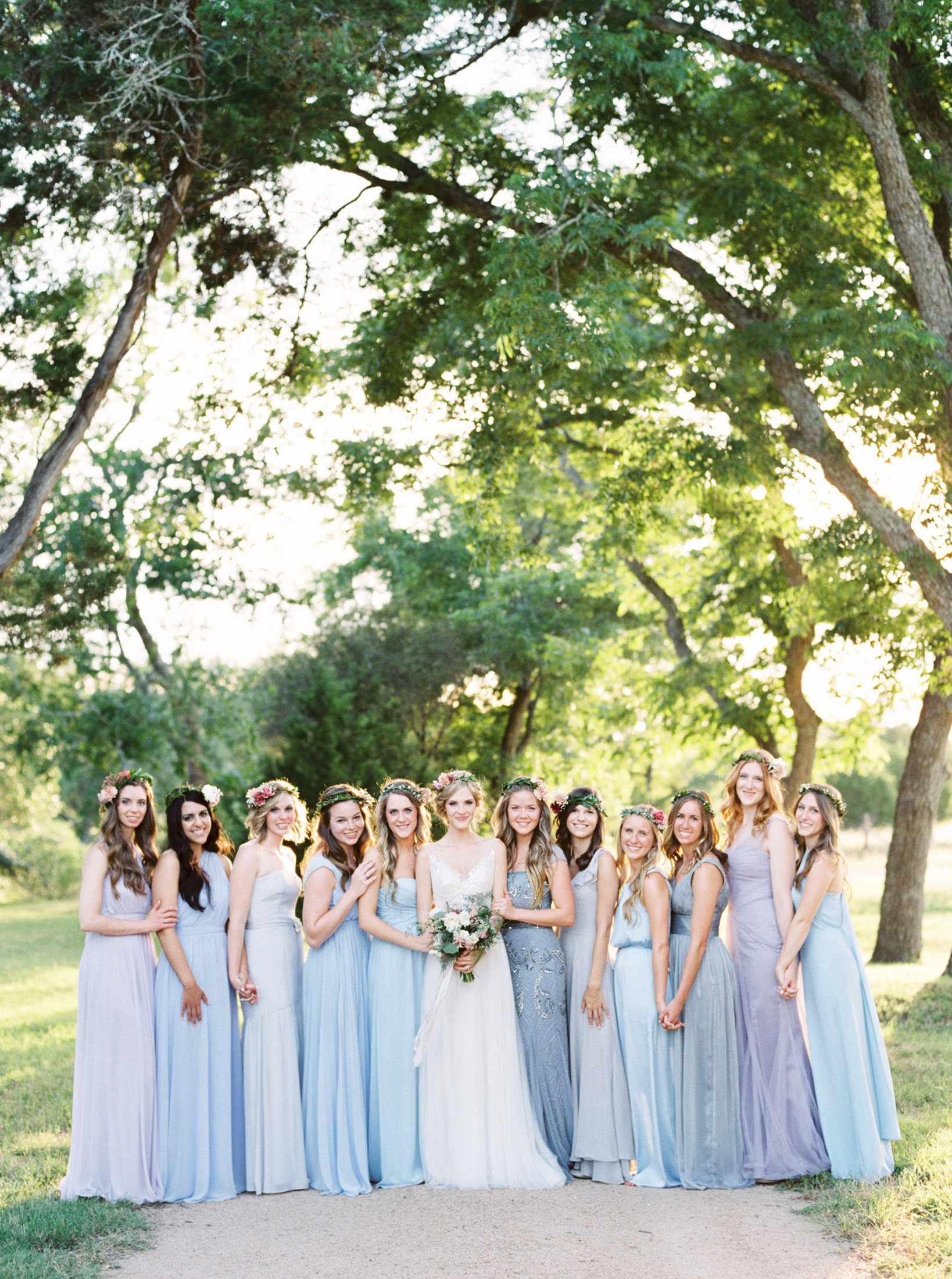 How to do mismatched bridesmaid dresses instyle ombrellifo Gallery
