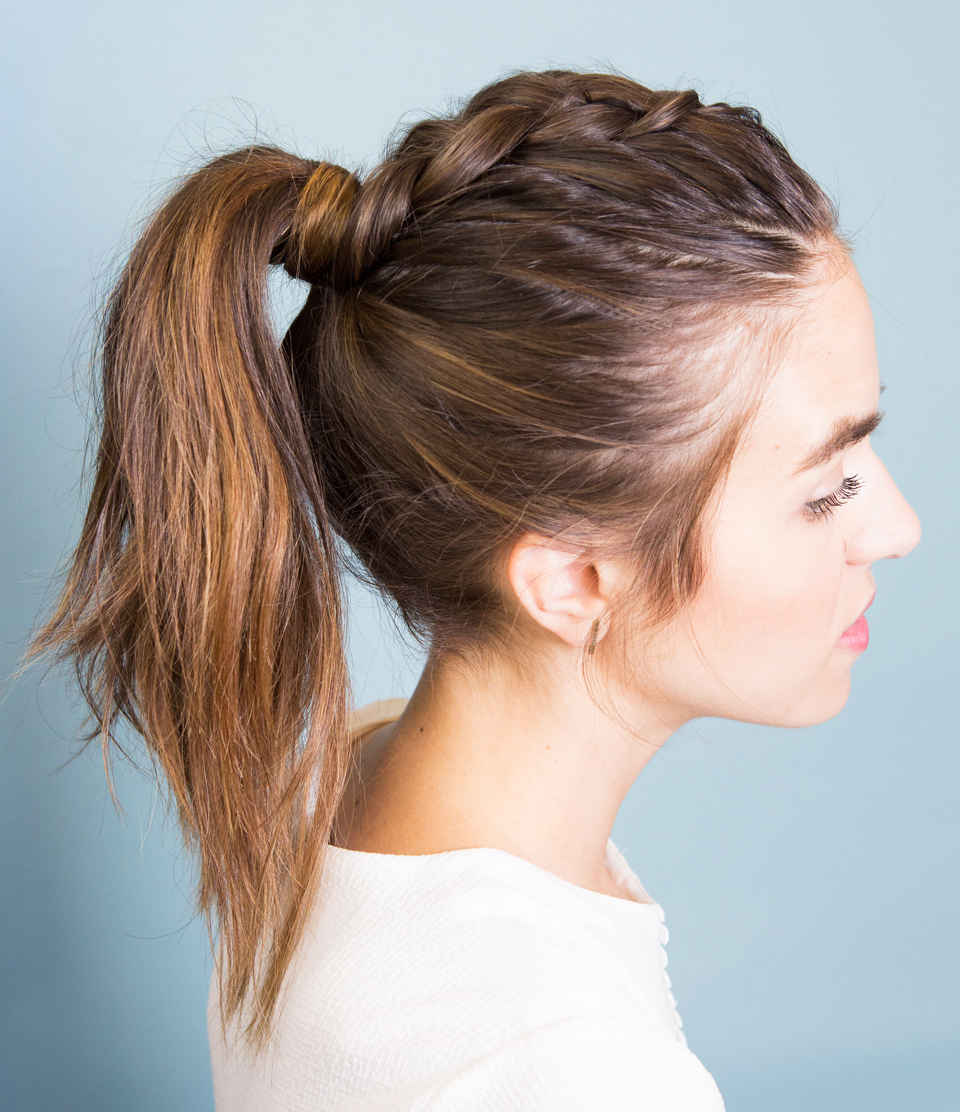The Pony Braid Gif You Need To Check Out