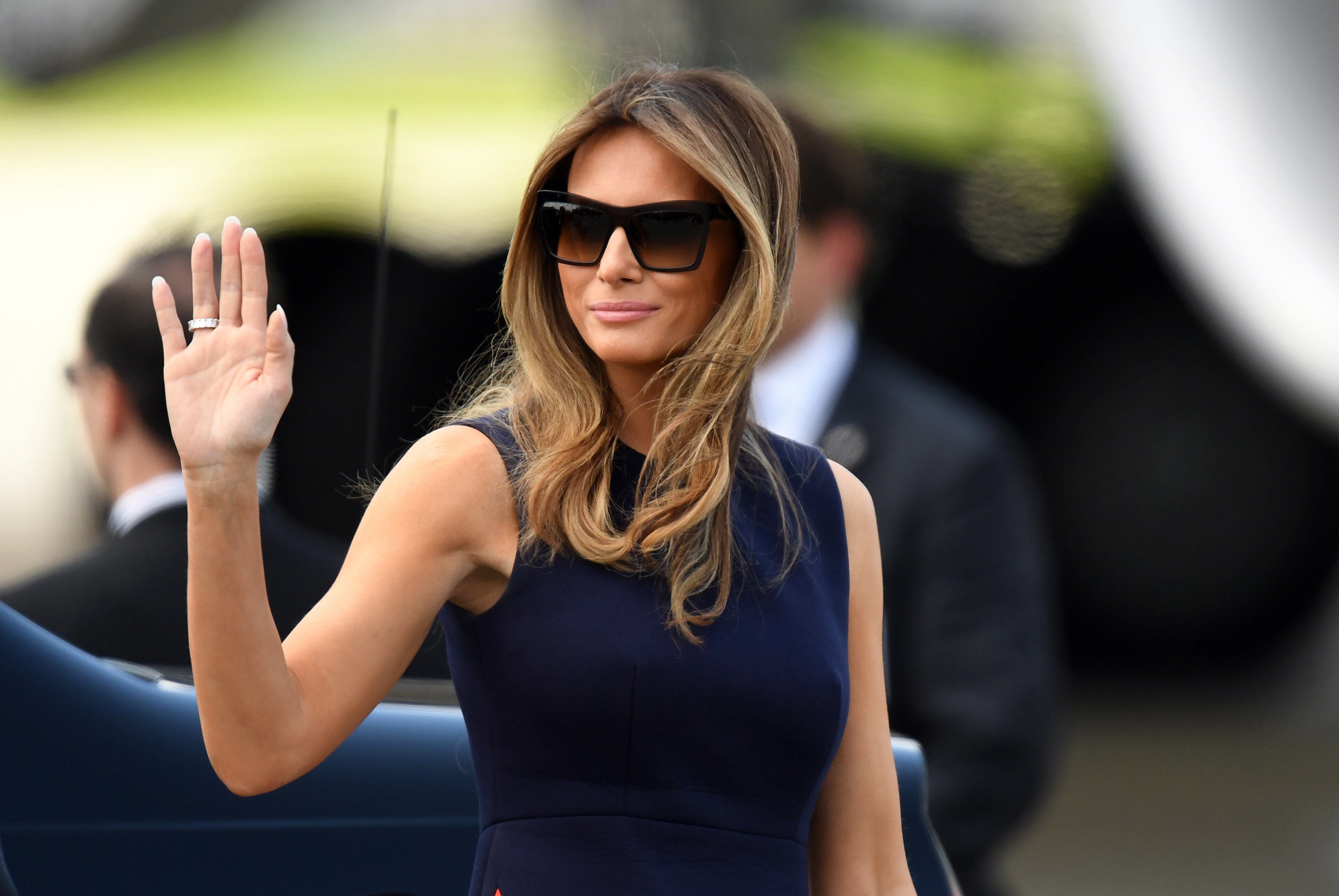 First Lady Looks In Sunglasses