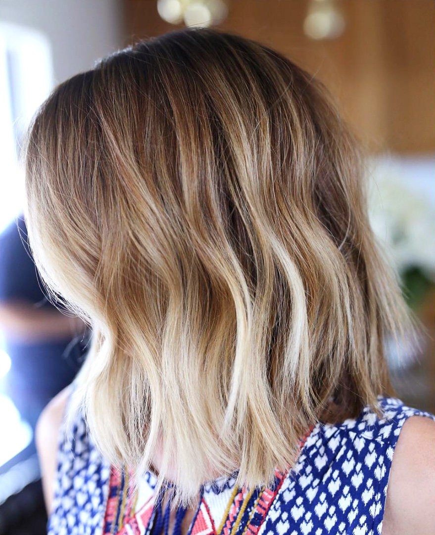 Hair instyle colour melting is the new way to get highlights this autumn hair colour urmus Images
