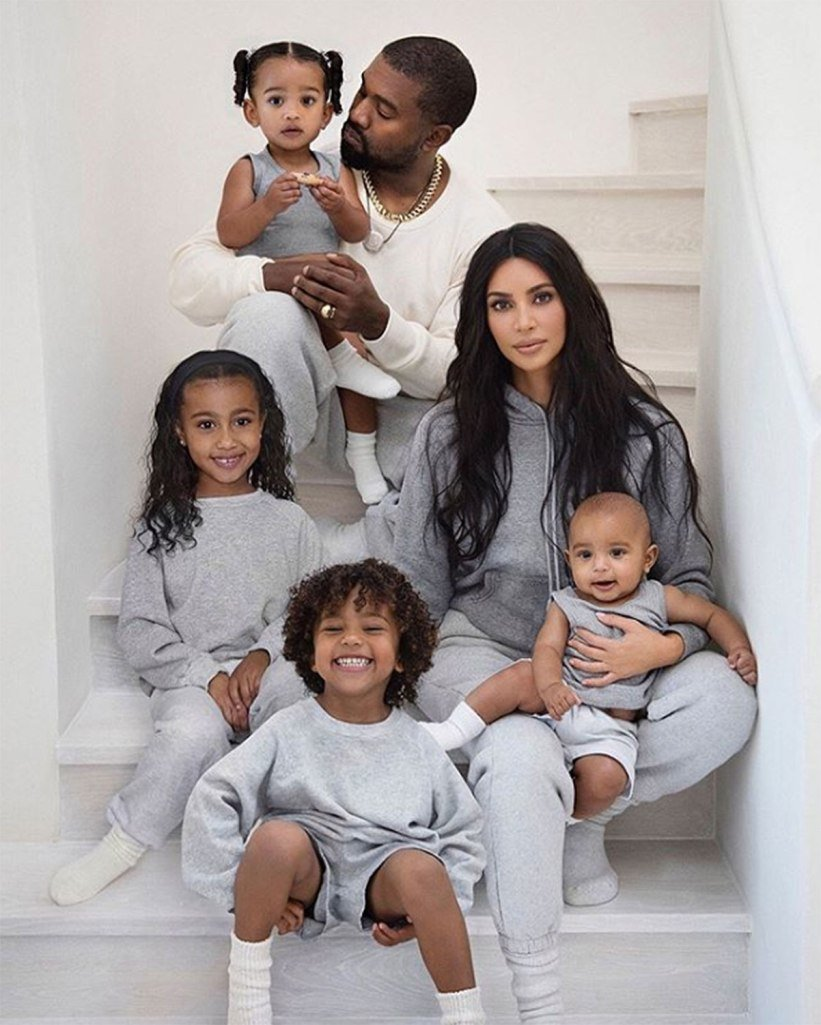 Why Kim Kardashian's Christmas Card Is Missing Her Other Family Members